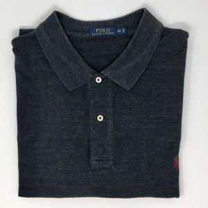 Polo Ralph Lauren Dark Grey Polo Shirt Size 3XLT